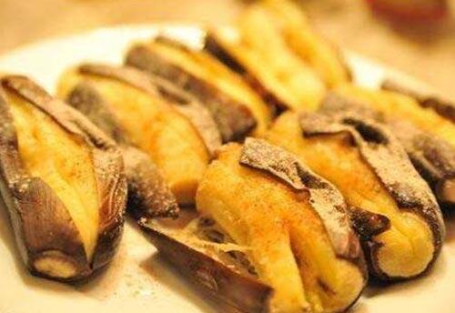 四川烤香蕉