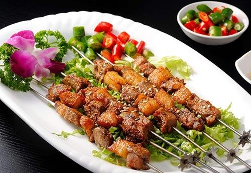 重庆烤肉串